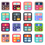 [iOS | iPhone] サクサク電卓 ZippyCalc アイコン案作成してみる