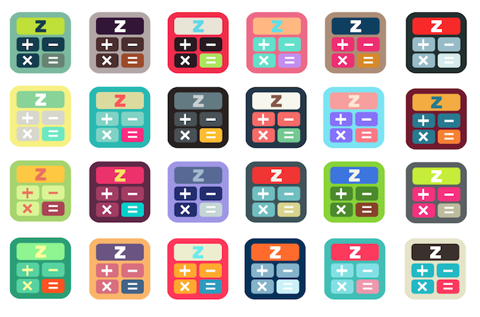zippy_calc_icon_color_themes